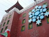 海洋公園 聖誕全城hohoho 2007-12-23:飄雪中