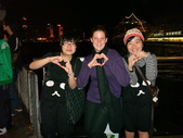 聖誕看燈飾 2007-12-20:外國人