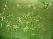 黑板塗鴉 2007-12-17:麵包軍團