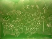 黑板塗鴉 2007-12-17:水果軍團