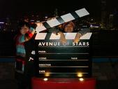 聖誕看燈飾 2007-12-20:拍板@星光大道
