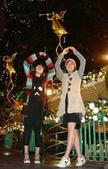 聖誕看燈飾 2007-12-20:升天中