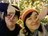聖誕看燈飾 2007-12-20:扮自拍