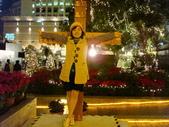 聖誕看燈飾 2007-12-20:被釘十字架