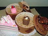 不織布蛋糕置物盒:8