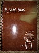 7A Note Book:cover