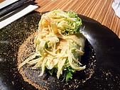 090718皮蛋麻生日原燒慶生:健的生春捲沙拉