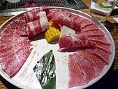 090718皮蛋麻生日原燒慶生:原燒牛肉拼盤