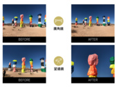 ShiftCam 2.0 六合一旅行攝影組 – iPhone X:多合1 廣角望遠before-after.png