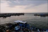 『 枋寮。枋寮漁港 』車過枋寮。欣賞無邊際的夕陽海景: