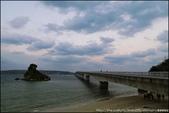『 沖繩。古宇利大橋 』絕色景點。日本最長的跨海大橋: