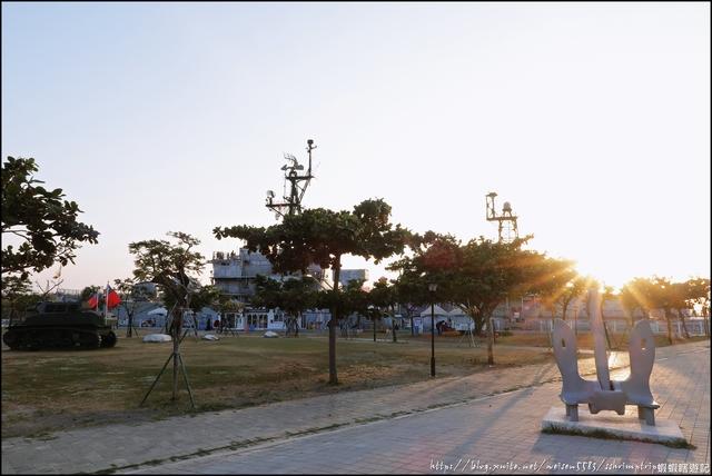 『 安平。定情碼頭德陽艦園區 』登艦囉。來安平必打卡美拍的魅力景點: