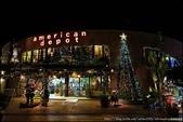 『 沖繩。美國村 』叮叮噹叮叮噹。目前是聖誕風格的美國村: