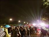 『 台北。總統府前廣場 』雨勢不減熱情。2019.01.01元旦升旗典禮: