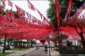 『 中壢。雲南文化公園&國旗屋 』打卡踏點。飄揚的青天白日滿地紅: