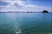 『 沖繩。海灘 』沖繩西部的沿途海景: