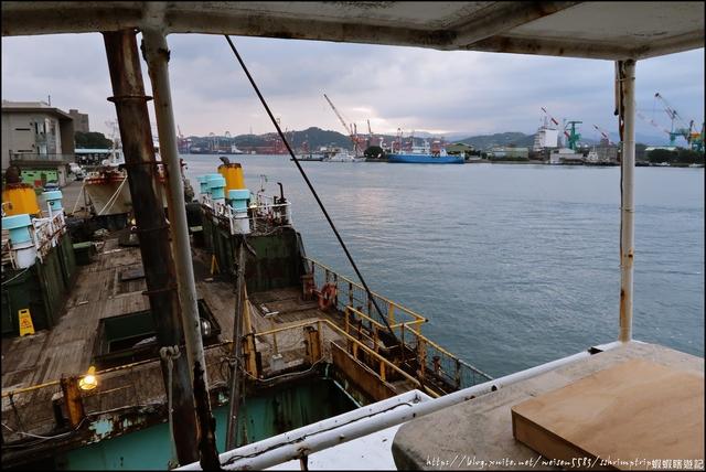 『 基隆。潮藝術(正濱漁港&阿根納造船廠遺址) 』期間限定。最大亮點是海上美術館: