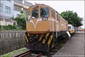 『 苗栗。苗栗鐵道文物展示館 』鐵道迷必來。眾多老火車頭陳列的大展場: