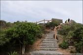 『 恆春。貓鼻頭公園 』墾丁著名地標。欣賞海崖上一隻蹲仆的貓: