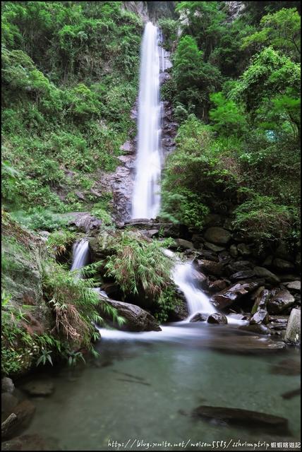 『 卓溪。南安瀑布 』進入八通關古道的第一個景點: