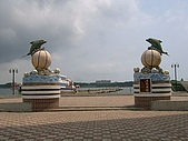 澎湖之旅─馬公:第一碼頭旁的廣場