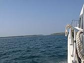 澎湖之旅─虎井嶼:003離海岸越來越