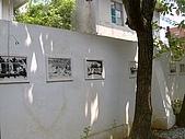 澎湖之旅─澎湖開拓館:0013在牆上發現有紀念意