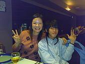 20090119夏慕尼:鄰座也是花旗饗樂卡買一送一的會員,我們互拍