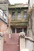20080223台南安平行與古都路跑:安平老街內的一棟老房子