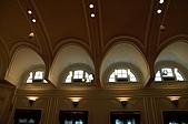 20070805參觀總統府:大廳的拱形天花板