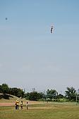 20090815荒野北五團團集會_宜蘭蘇澳岳明國小:天空中的風箏總是吸引孩子