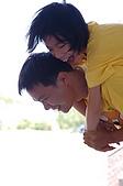 20090815荒野北五團團集會_宜蘭蘇澳岳明國小:和孩子膩在一起是幸福的