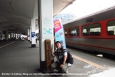 鐵路與我:縱貫線鐵路起點里程碑與我IMG_2880.jpg